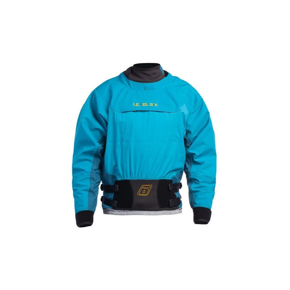 Level Six Nebula Dry Top Grotto Blue / Small Dry Wear Level Six - Hook 1 Outfitters/Kayak Fishing Gear