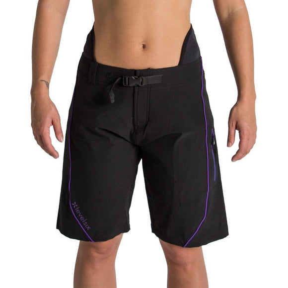 Level Six Pro Goddess Neoprene Lined Surf Short 4 Layering Level Six - Hook 1 Outfitters/Kayak Fishing Gear