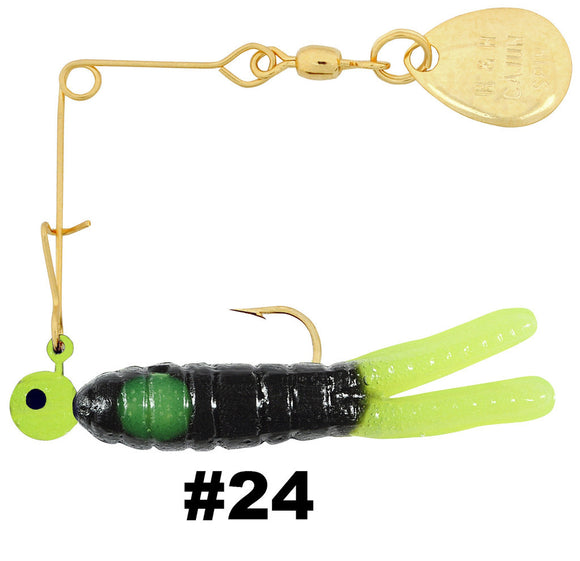 H&H Cajun Mini Spin-Gold  Lures - Spinnerbaits/Buzzbaits H&H Tackle - Hook 1 Outfitters/Kayak Fishing Gear