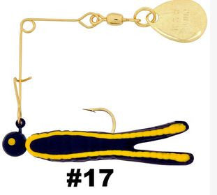H&H Cajun Spin-Gold  Lures - Spinnerbaits/Buzzbaits H&H Tackle - Hook 1 Outfitters/Kayak Fishing Gear