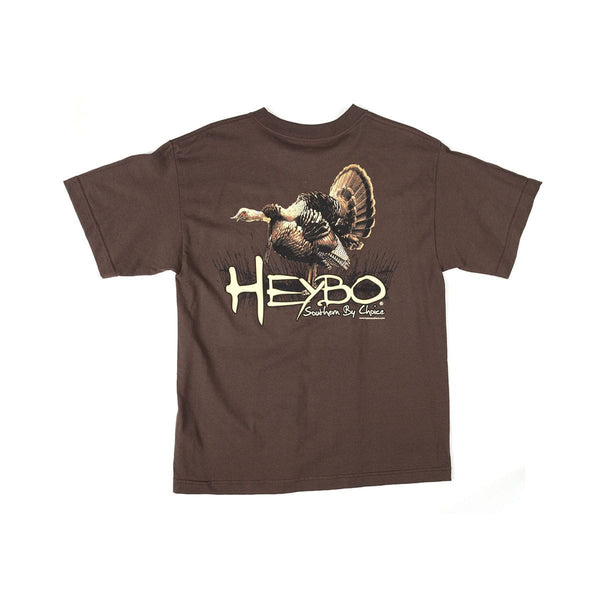 HEYBO TURKEY YOUTH SHORT SLEEVE T-SHIRT  Tops HEYBO - Hook 1 Outfitters/Kayak Fishing Gear