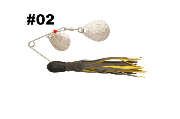 H&H Double Spinner  Lures - Spinnerbaits/Buzzbaits H&H Tackle - Hook 1 Outfitters/Kayak Fishing Gear