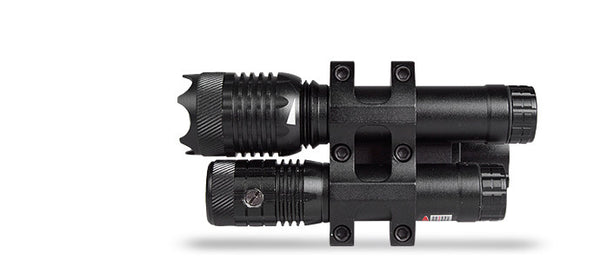 Hawke Red Laser/Led Combo - With 1In Scope Mount  Optics Hawke Sport Optics - Hook 1 Outfitters/Kayak Fishing Gear