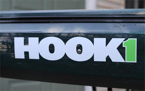 "HOOK 1 Sticker - 17.5"" X 3""  Accessories HOOK 1 - Hook 1 Outfitters/Kayak Fishing Gear"