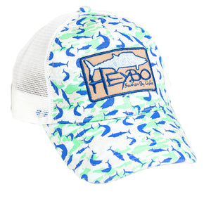 HEYBO WAHOO FLAGE  Hats HEYBO - Hook 1 Outfitters/Kayak Fishing Gear