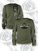 CLOSEOUT: HOOK 1 Faded Spearpoint Logo L/S T-Shirt  Apparel HOOK 1 - Hook 1 Outfitters/Kayak Fishing Gear