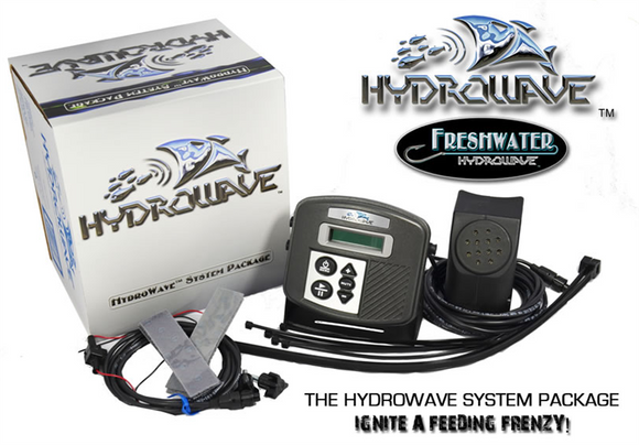 HydroWave Electronic Fishing Aid Technology - Freshwater  Fish Finders - Radios - GPS Hydrowave - Hook 1 Outfitters/Kayak Fishing Gear