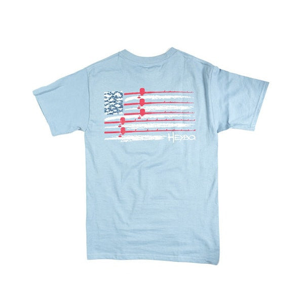 USA Flag  Tops Heybo - Hook 1 Outfitters/Kayak Fishing Gear