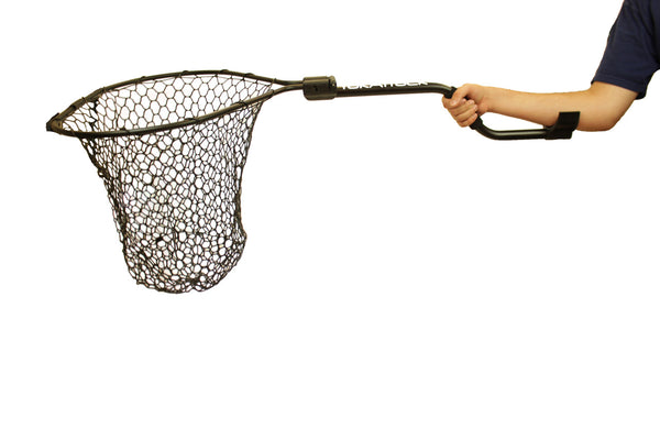 "Leverage Landing Net, 20"" X 21"" Hoop None Nets/Traps/Baskets YakAttack - Hook 1 Outfitters/Kayak Fishing Gear"