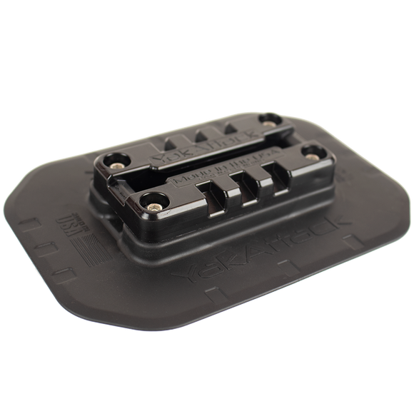 YakAttack SwitchPad™ Flexible Surface Mount with MightyMount Switch™  Surface and Ball Mounts YakAttack - Hook 1 Outfitters/Kayak Fishing Gear