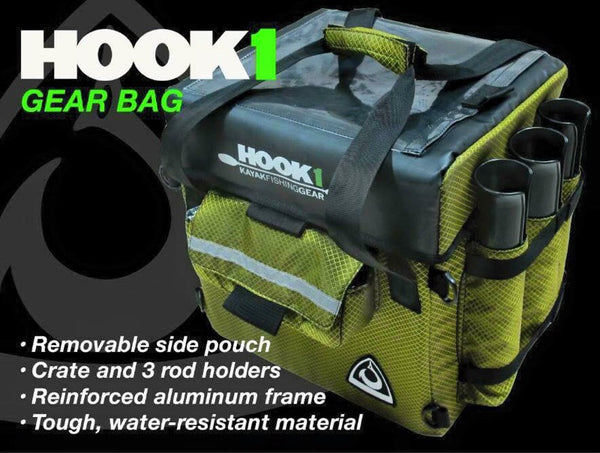 HOOK 1 MaxPak  Tackle Boxes/Bags Hook 1 Outfitters - Hook 1 Outfitters/Kayak Fishing Gear