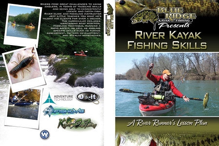 River Kayak Fishing Skills, Summer Patterns, Fall and Winter Patterns Combo Pack - Jeff Little  Magazines - Books - DVDs Blue Ridge Kayak Fishing - Hook 1 Outfitters/Kayak Fishing Gear