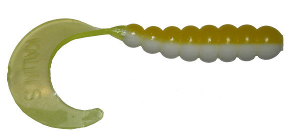 Kalins Triple Threat Grub  Lures - Soft Plastics Kalins - Hook 1 Outfitters/Kayak Fishing Gear