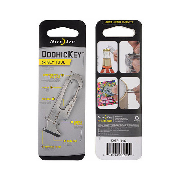 DoohicKey® 6x Key Tool  Accessories Nite Ize - Hook 1 Outfitters/Kayak Fishing Gear