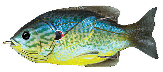 Koppers Hollow Body Sunfish  Lures - Soft Plastics Koppers Fishing - Hook 1 Outfitters/Kayak Fishing Gear