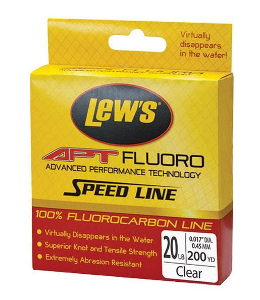 Lews Apt Speed Fluorocarbon  Line - Mono Lew's - Hook 1 Outfitters/Kayak Fishing Gear