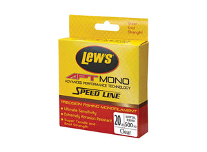Lews Apt Speed Mono  Line - Mono Lew's - Hook 1 Outfitters/Kayak Fishing Gear