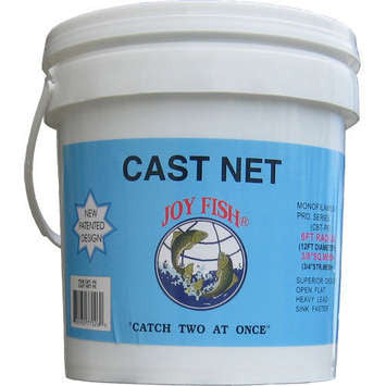 Lee Fisher Joy Fish Cast Net  Nets/Traps/Baskets Lee Fisher - Hook 1 Outfitters/Kayak Fishing Gear