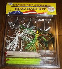 Luck E Strike Buzzbait Assort - 60Pc Nic Blade In Pop Box  Lures - Spinnerbaits/Buzzbaits Luck E Strike - Hook 1 Outfitters/Kayak Fishing Gear