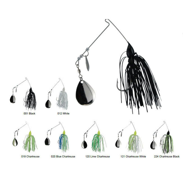 Luck E Strike Spinbait Assort - 72Pc Col/Wil In Pop Box  Lures - Soft Plastics Luck E Strike - Hook 1 Outfitters/Kayak Fishing Gear