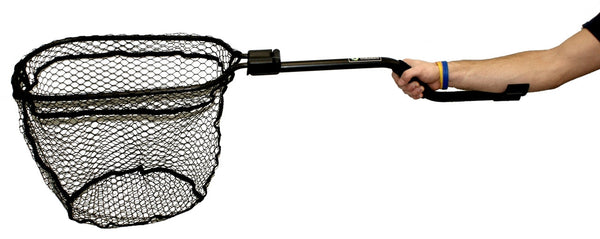 Leverage Landing Net, 12'' x 20'' Hoop None Nets/Traps/Baskets YAKATTACK - Hook 1 Outfitters/Kayak Fishing Gear