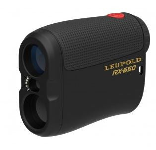 Leupold Laser Rangefinder - Rx-650 Micro Black  Optics Leupold - Hook 1 Outfitters/Kayak Fishing Gear
