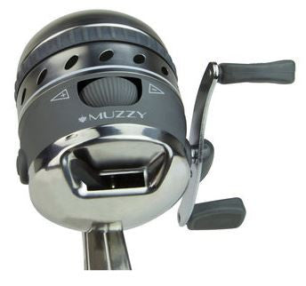 Muzzy Bowfishing Reel  Bowfishing Muzzy Archery - Hook 1 Outfitters/Kayak Fishing Gear