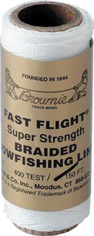 Muzzy Bowfishing Line - Brownell 200# Fast-Fli 150Ft