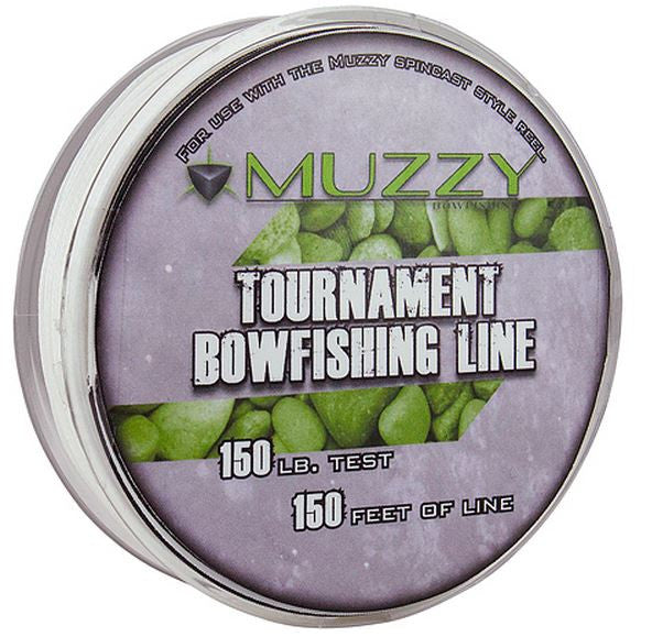 Muzzy Bowfishing Line - 150# 150Ft Tournament Line  Bowfishing Muzzy Archery - Hook 1 Outfitters/Kayak Fishing Gear