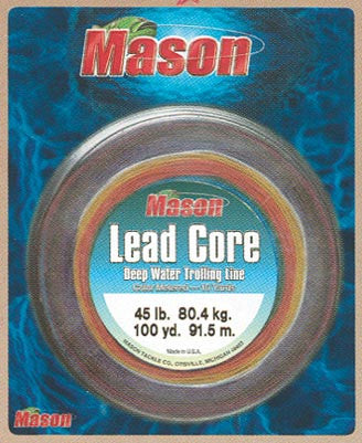 Mason Lead Core Line  Line - Lead Core/Fnsh/Trotline Mason Tackle - Hook 1 Outfitters/Kayak Fishing Gear