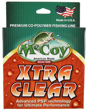 Mccoy Xtra Clear Line  Line - Mono Mccoy - Hook 1 Outfitters/Kayak Fishing Gear