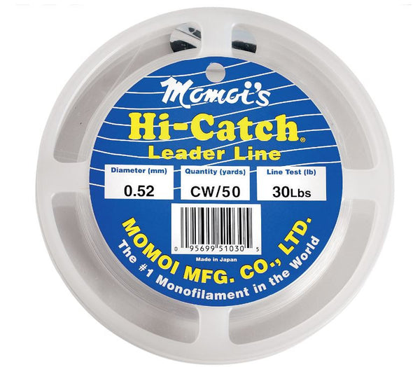 Momoi Hi Catch Mono Leader  Line - Leader Momoi / Hi-Liner Line - Hook 1 Outfitters/Kayak Fishing Gear