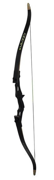Muzzy Bowfishing Recurve Bow - Addict Bow 40# 28In 58In Loa  Bowfishing Muzzy Archery - Hook 1 Outfitters/Kayak Fishing Gear