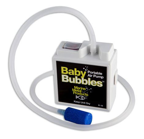 Marine Metal Aerator - Baby Bubbles Box 3Gal 2/Aa  Bait Containers/Aeration Marine Metal - Hook 1 Outfitters/Kayak Fishing Gear