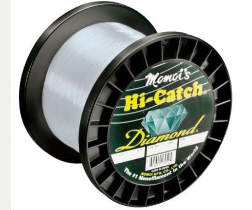 Momoi Hi Catch Mono 4Lb Spool - Clear White 8080Yds 30Lb  Line - Mono Momoi / Hi-Liner Line - Hook 1 Outfitters/Kayak Fishing Gear