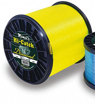 Momoi Hi Catch Mono 4Lb Spool - Yellow 8080Yds 30Lb
