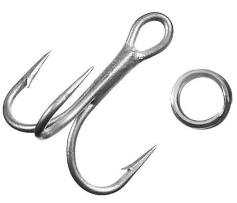 L&S Mirrodine Hook Kit - Replacement Hooks/Splt Rings  Lures - Attractants/Accessor Mirrolure / L&S Bait - Hook 1 Outfitters/Kayak Fishing Gear