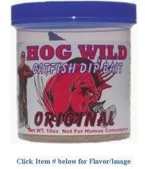 Magic Bait Hog Wild Dip Bait - 10Oz Original-Liver Dip Bait  Lures - Bait Magic Bait - Hook 1 Outfitters/Kayak Fishing Gear