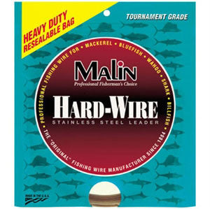 Malin Single Strand Ss Leader  Leaders/Accessories Malin Wire & Cable - Hook 1 Outfitters/Kayak Fishing Gear