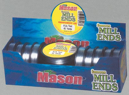 Mason Mill End Line  Line - Mono Mason Tackle - Hook 1 Outfitters/Kayak Fishing Gear