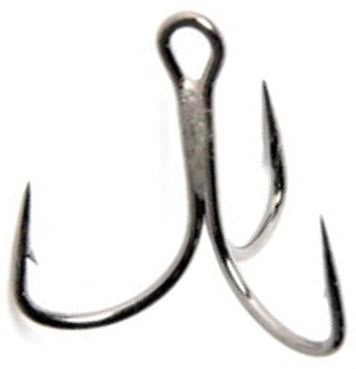Mustad Kvd Elite 1X Treble  Hooks Mustad - Hook 1 Outfitters/Kayak Fishing Gear
