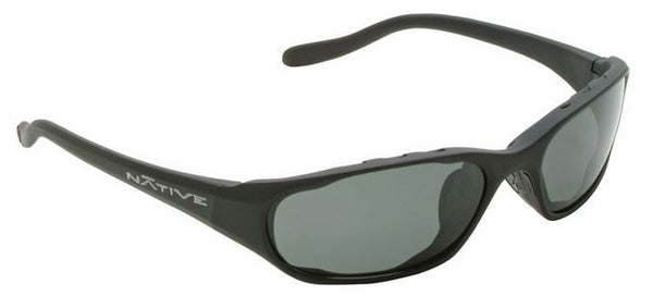 Native Polorized Eyewear - Throttle Asphalt/Grey  Eyewear/Accessories Native Eyewear - Hook 1 Outfitters/Kayak Fishing Gear