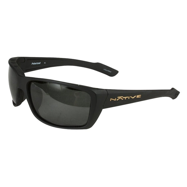 Native Polorized Eyewear - Wazee Asphalt/Gray  Eyewear/Accessories Native Eyewear - Hook 1 Outfitters/Kayak Fishing Gear