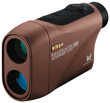 Nikon Riflehunter 550 Rangefin - Laser-550 Brown  Optics Nikon Optics - Hook 1 Outfitters/Kayak Fishing Gear