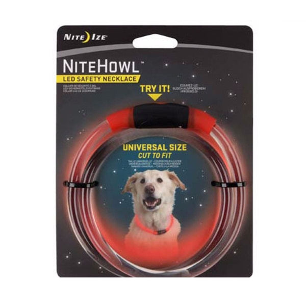 NiteHowl™ LED Safety Necklace  Pet Nite Ize - Hook 1 Outfitters/Kayak Fishing Gear