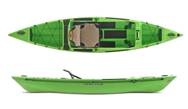 Native Watercraft Ultimate FX 12 Kayak  Kayaks Native Watercraft - Hook 1 Outfitters/Kayak Fishing Gear