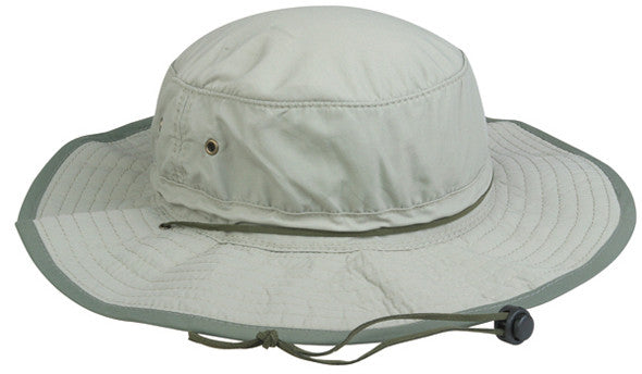 Outdoor Cap Boonie - Khaki 1-Size  Clothing/Footwear - Fishing Outdoor Cap - Hook 1 Outfitters/Kayak Fishing Gear