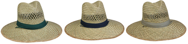 Outdoor Cap Straw Hat-Lifeguar - One Size Fits All 12/Pk
