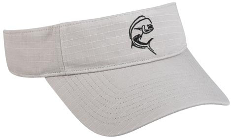 Outdoor Cap Q3 Cap - Mahi Mahi Grey 1-Sz  Clothing/Footwear - Fishing Outdoor Cap - Hook 1 Outfitters/Kayak Fishing Gear