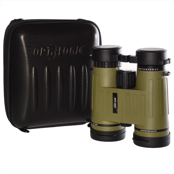 Opti-Logic 8x42 Waterproof HD Binoculars  Binoculars Opti-Logic - Hook 1 Outfitters/Kayak Fishing Gear